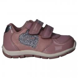 Chaussures de sport GEOX  pour Fille B943YA 0KNPV B HEIRA C8366 ANTIQUE ROSE-GREY