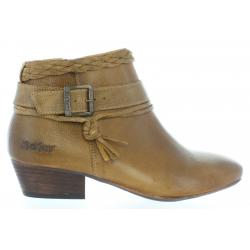 Women Mid boots KICKERS 512160-50 WESTBOOTS 114 CAMEL