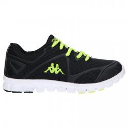 Women and Girl and Boy Sports shoes KAPPA 303XWH0 SPEEDER 929 BLACK