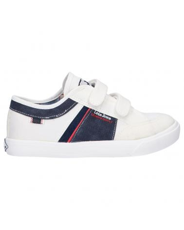 Girl and Boy Trainers LOIS JEANS 60017 06 WHITE