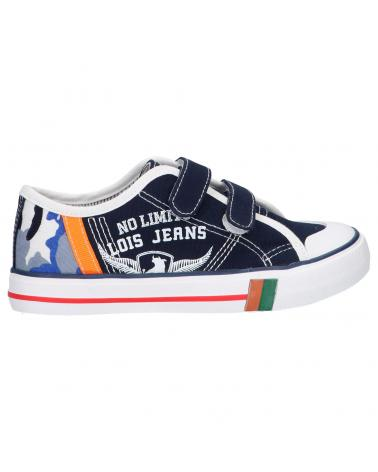 Girl and Boy Trainers LOIS JEANS 60015 107 MARINO