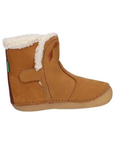 Boy and Girl Boots KICKERS 735641-10 SOFUR 114 CAMEL