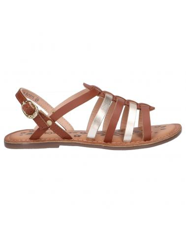 Women and Girl Sandals KICKERS 695574-30 DIXON 116 CAMEL OR