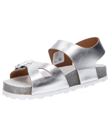 Women and Girl and Boy Sandals KICKERS 858541-30 SUNKRO 16 ARGENT