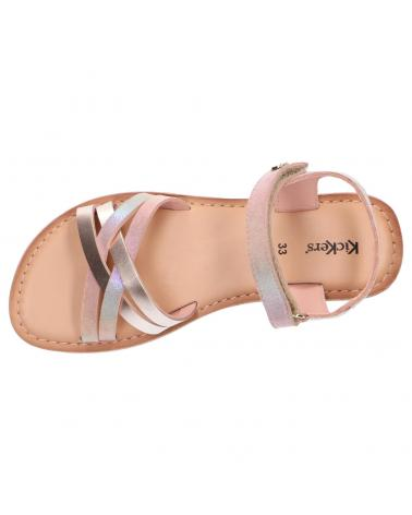 Women and Girl Sandals KICKERS 858650-30 BETTERNEW 13 ROSE RAINBOW