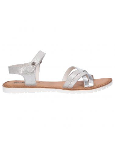 Women and Girl Sandals KICKERS 858650-30 BETTERNEW 16 ARGENT