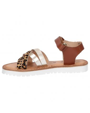 Women and Girl Sandals KICKERS 858651-30 BETTERNEW 15 OR LEOPARD