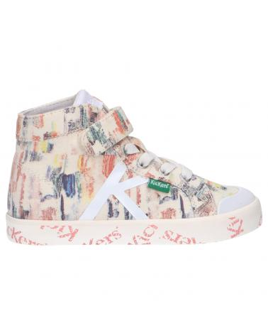 Boy and Girl Trainers KICKERS 858433-30 GODUP 2 MULTICOLOR PAINTING