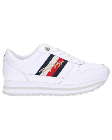 Women Sports shoes TOMMY HILFIGER FW0FW05218 SIGNATURE YBR WHITE