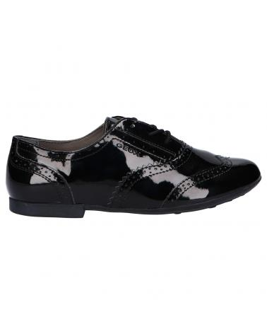 Women and Girl and Boy Shoes GEOX J5455A 000HH J PLIE C9999 BLACK