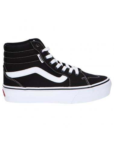 Women and Boy Trainers VANS OFF THE WALL VN0A5EM71871-3 FILMORE HI BLACK-WHITE