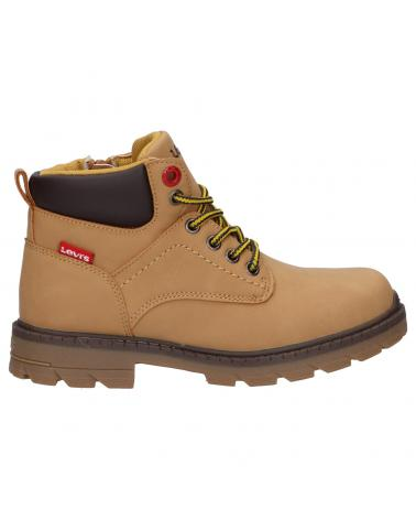 Boy and Girl Mid boots LEVIS VFOR0070S JAX PLUS 0138 CAMEL