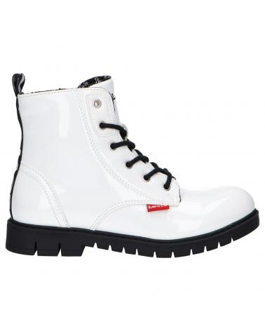 Boy and Girl Boots LEVIS VPHI0022S PASADENA 0061 WHITE