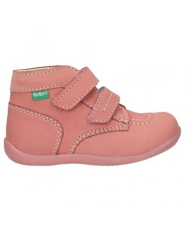 Girl and Boy Mid boots KICKERS 620739-10 BONKRO-2 131 ROSE CLAIR