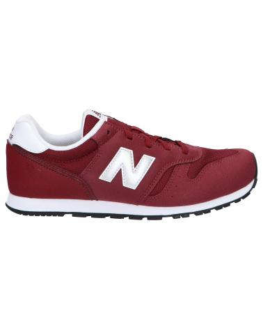 Women and Girl and Boy Sports shoes NEW BALANCE YC373KR2 BURGUNDY