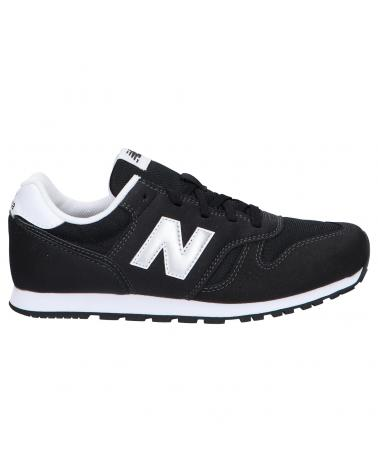 Women and Girl and Boy Sports shoes NEW BALANCE YC373KB2 BLACK