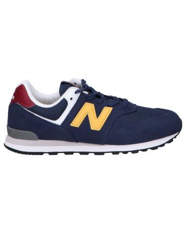 Women and Girl and Boy Sports shoes NEW BALANCE GC574HW1 NATURAL INDIGO