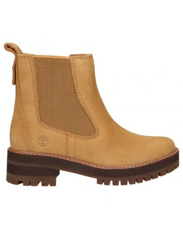Women Mid boots TIMBERLAND A2HKF COURMAYEUR VALLEY CHELSEA 763 SPRUCE YELLOW