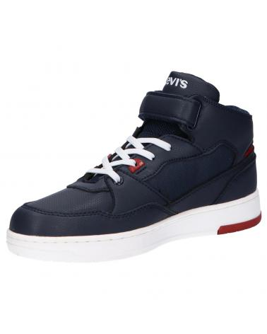 Women and Girl and Boy Sports shoes LEVIS VIRV0013T BLOCK 0290 NAVY RED