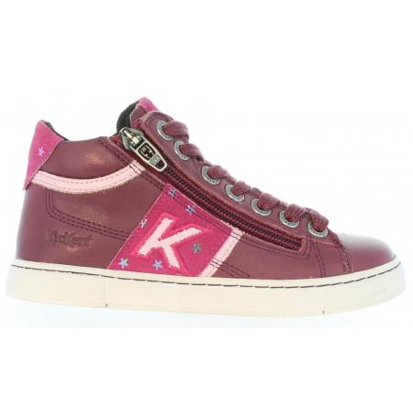 Botines de Niño y Niña KICKERS 464284-30 POOLOVER 133 ROSE