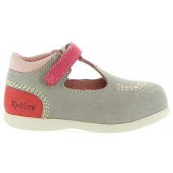 Zapatos de Niño y Niña KICKERS 413123-10 BABYFRESH 123 GRIS CLAIR