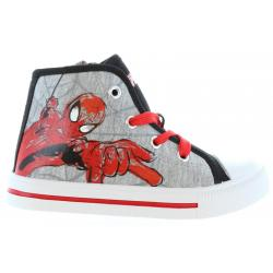 Deportivas de Niño Spiderman SP003223-B2500 BLACK-LGR