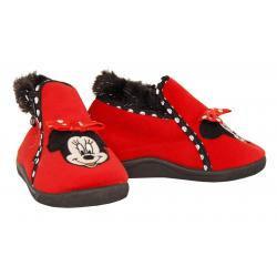 Calzado de casa de Niña Minnie DM000227-B1701 RED-BLACK