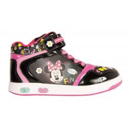 Botines de Niña Minnie DM000141-B4600 BLACK-FUXIA