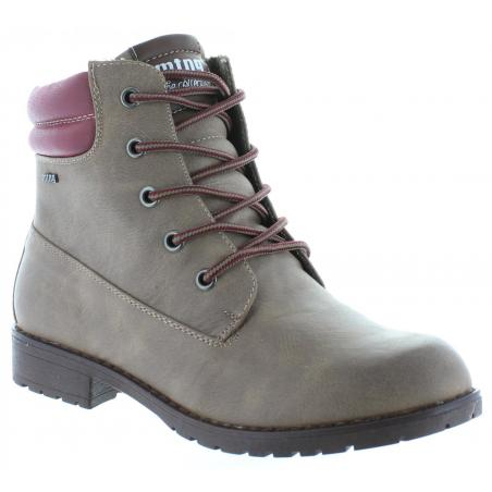 52803 MTNG woman TAUPE TAMIA Mid boots Rt8qwEwU
