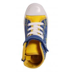 Boy and Girl and Women Trainers MTNG 13992 CANVAS AZUL