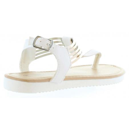 Sandalias de Niña Happy Bee B127060-B4600 WHITE-GOLD