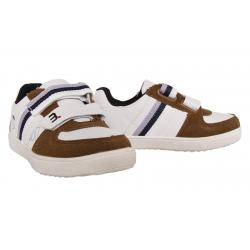 Boy and Girl Shoes KICKERS 474850-30 WINNER 123 GRIS BLEU