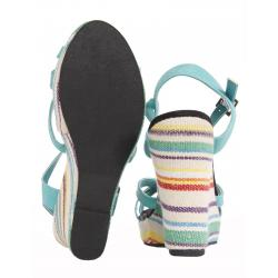 Boy and Girl Sandals KICKERS 279114-11 BOPING 121 GRIS CLAIR