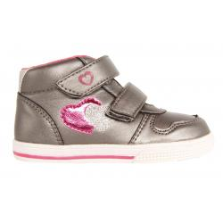 Botines de Niña One Step 218011-B1080 PEWTER-MULTI SILVER