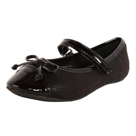 Bailarinas de Niña Flower Girl 212812-B4020 BLACK