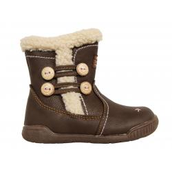 Botas de Niña Happy Bee B160958-B1392 BROWN-WHITE