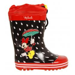 Botas de agua de Niña Minnie DM000210-B4643 RED-BLACK