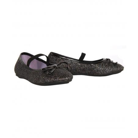 Bailarinas de Niña Flower Girl 147681-B4020 MBLACK-BLACK