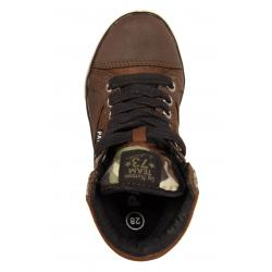 Botines de Niño Patrick 196472-B4020 BROWN-BLACK