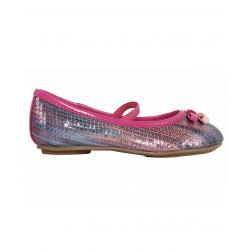 Bailarinas de Niña Flower Girl 850881-B4600 MBLUE-LPINK