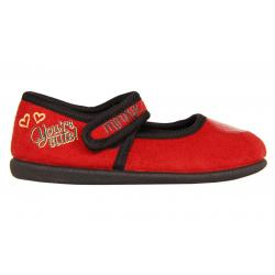 Calzado de casa de Niña Minnie DM000261-B2067 RED-BLACK