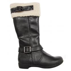 Women Boots MTNG 52949 C19091 GOBY NEGRO