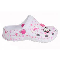 Zuecos de Niña Hello Kitty 420160 HK LARGO BLANCO