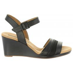 Sandalias de Mujer CLARKS 26133799 LAFLEY BLACK LEATHER
