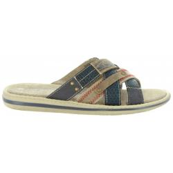 Chanclas de Hombre URBAN 385253-B8113 D BLUE-NATURAL