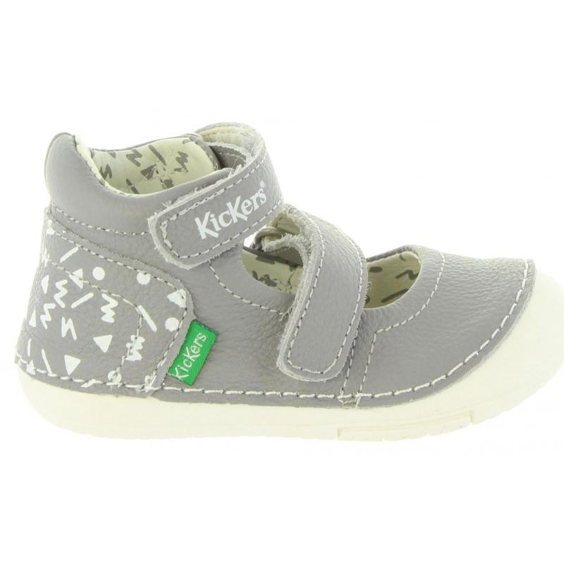 Pour Kickers Fille 123 Chaussures 608450 Gris 10 Sola x1fwA