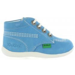 Botines de Niño y Niña KICKERS 209459-11 BILLY 51 BLEU CLAIR