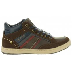 Botines de Hombre WRANGLER WM182101 MARSHALL DARK BROWN