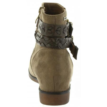 Botines de Mujer MTNG 50219 C6799 TAUPE