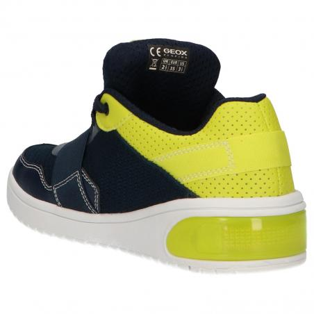 Women and Boy and Girl Sports shoes GEOX J927QB 01454 J XLED C0749 NAVY